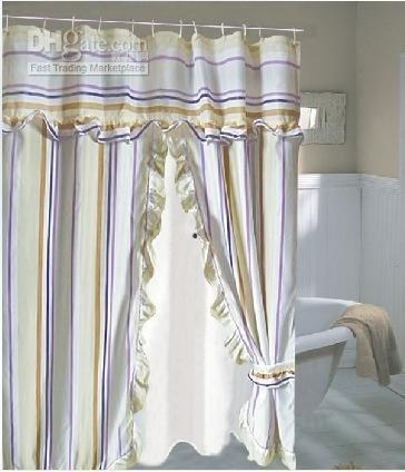 Swag Shower Curtain Foter