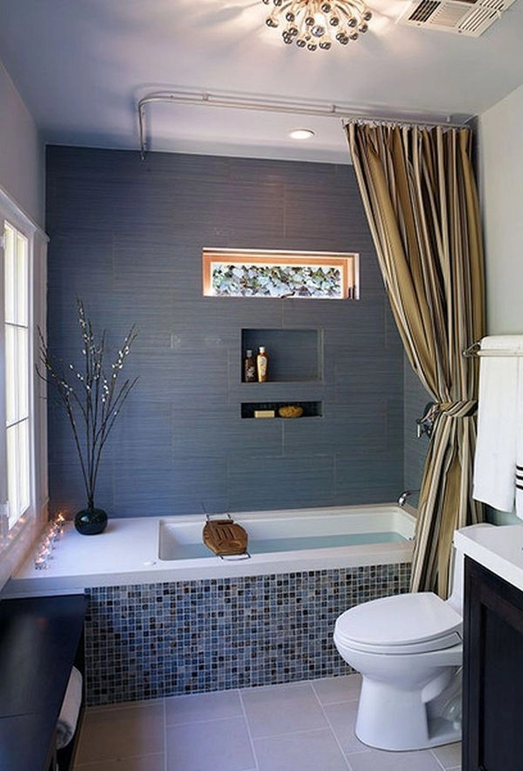best shower curtain rod for tile