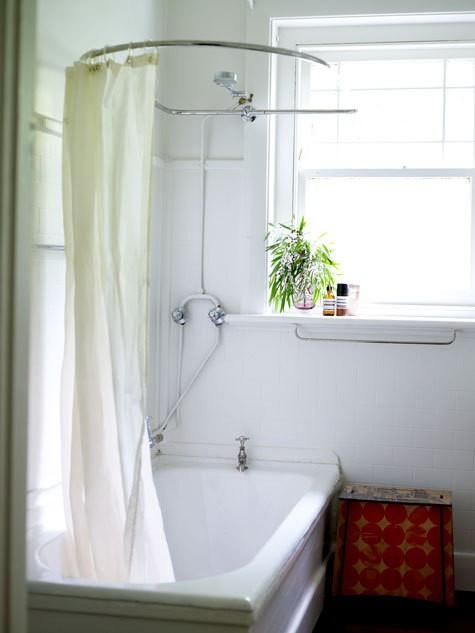 best 50 round shower curtain rod