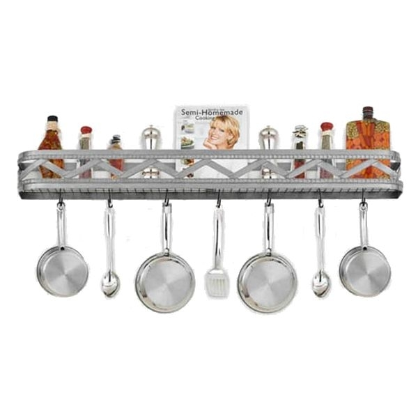 rustic pot rack ideas on foter