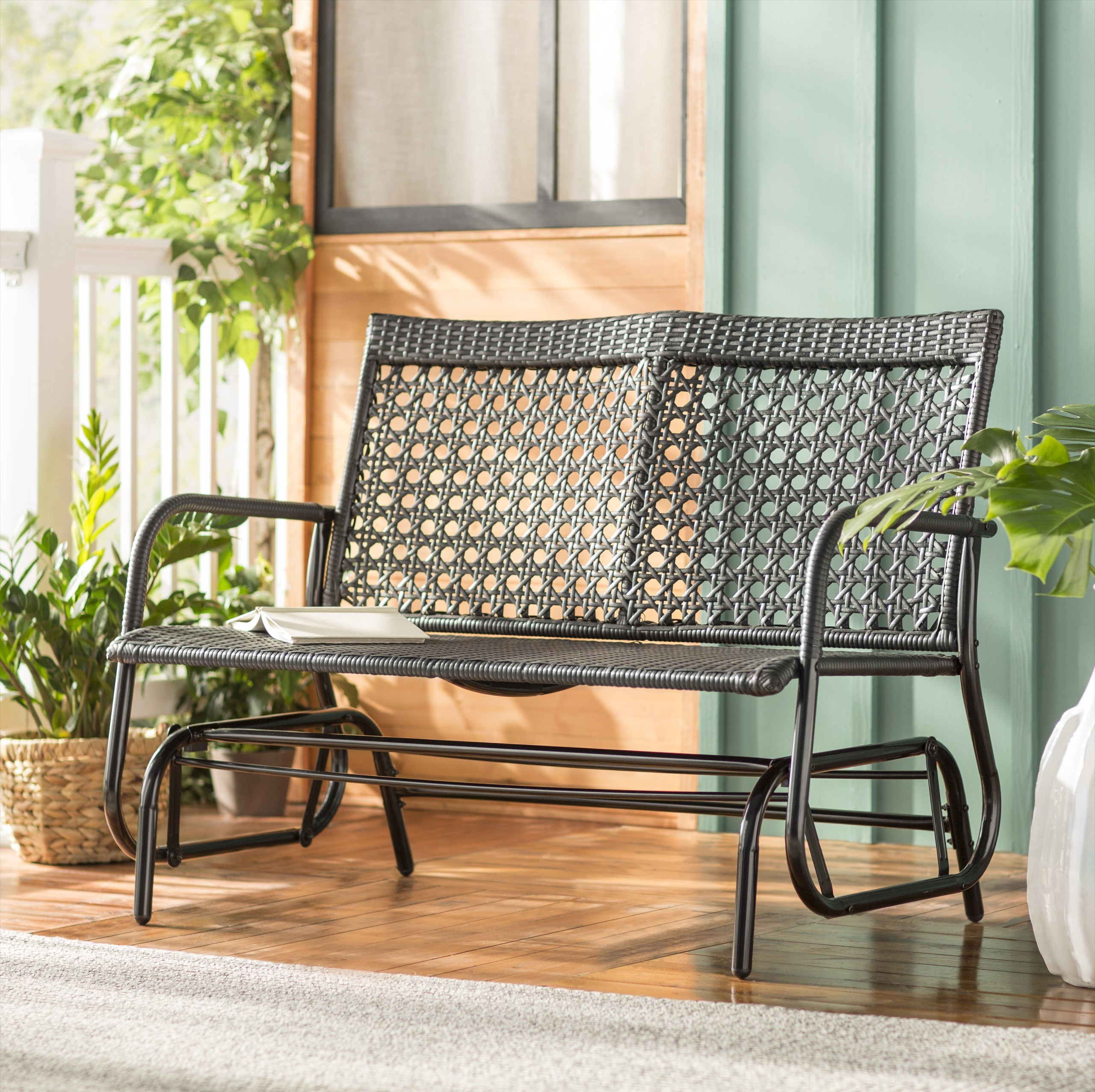 patio rocking chair and glider