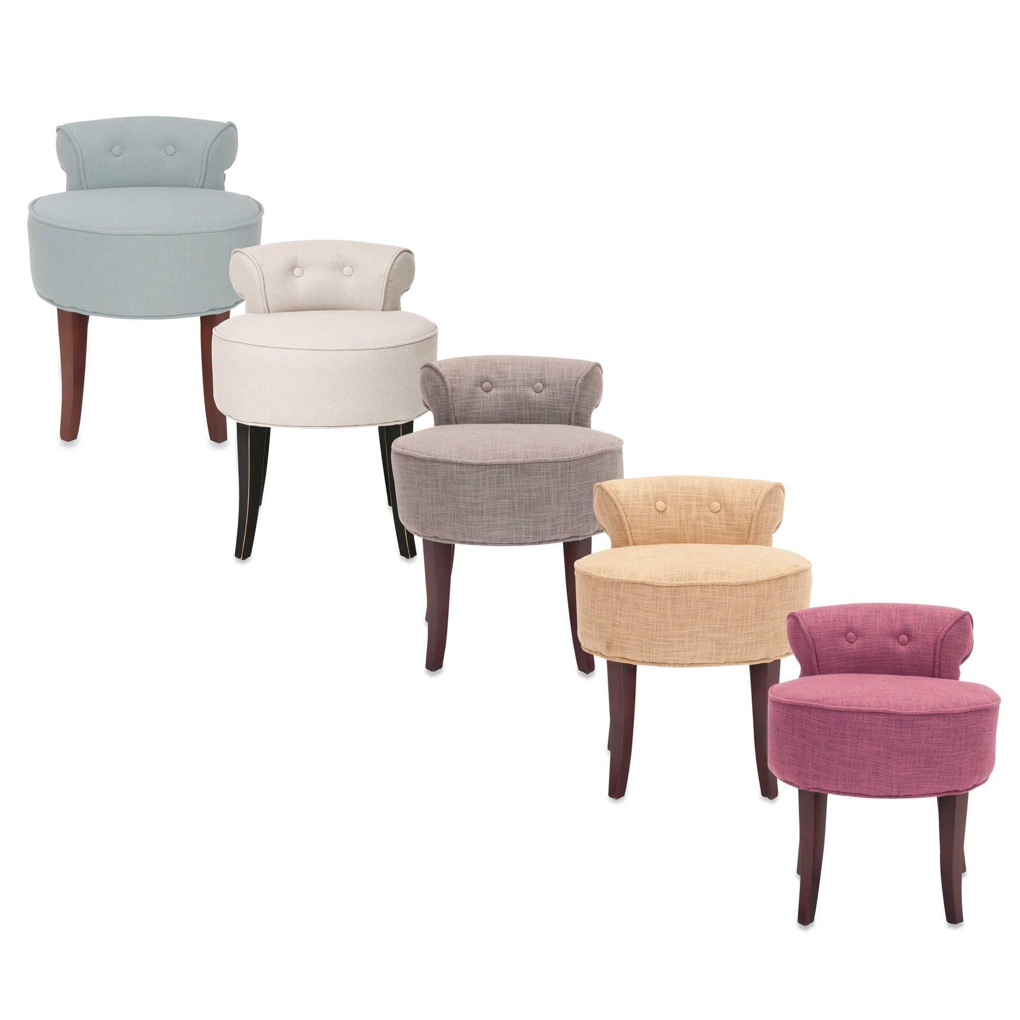 bathroom vanity chairs and stools