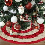 Designer Christmas Tree Skirts Ideas On Foter