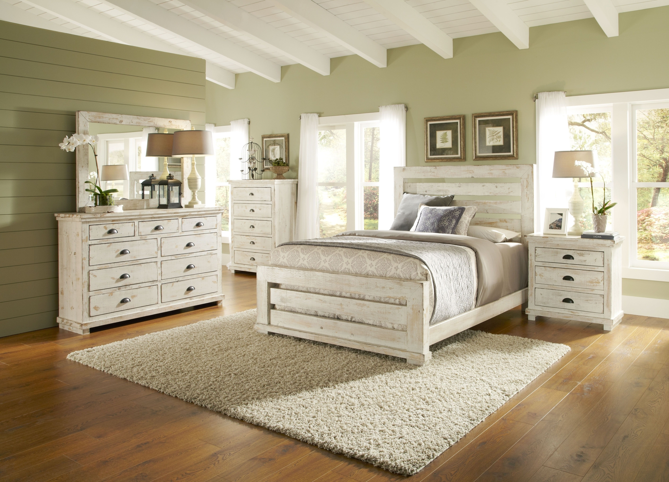 distressed wood bedroom sets ideas on