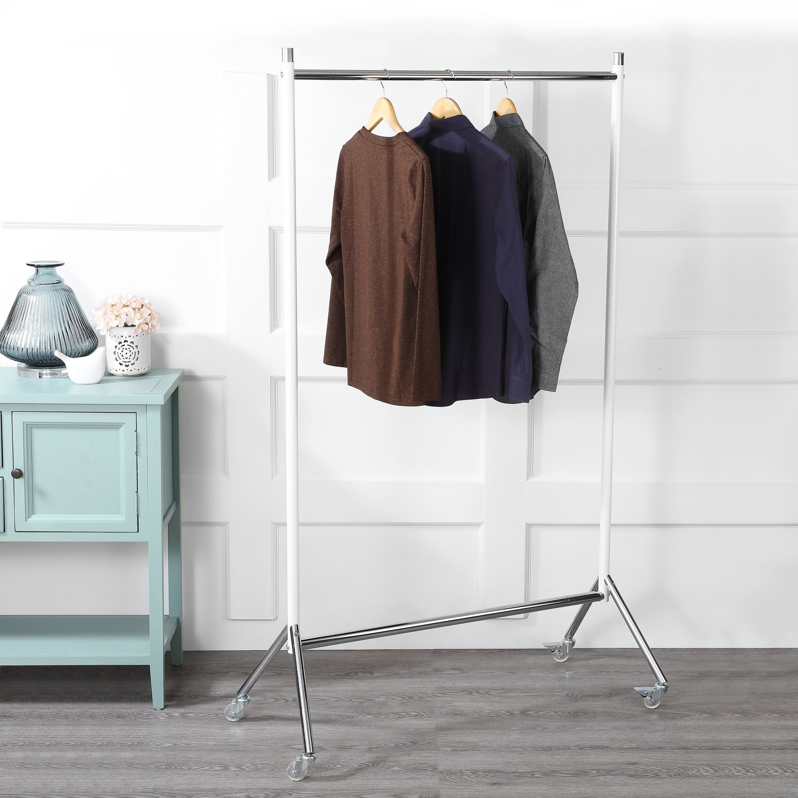 clothes rack and garment rack