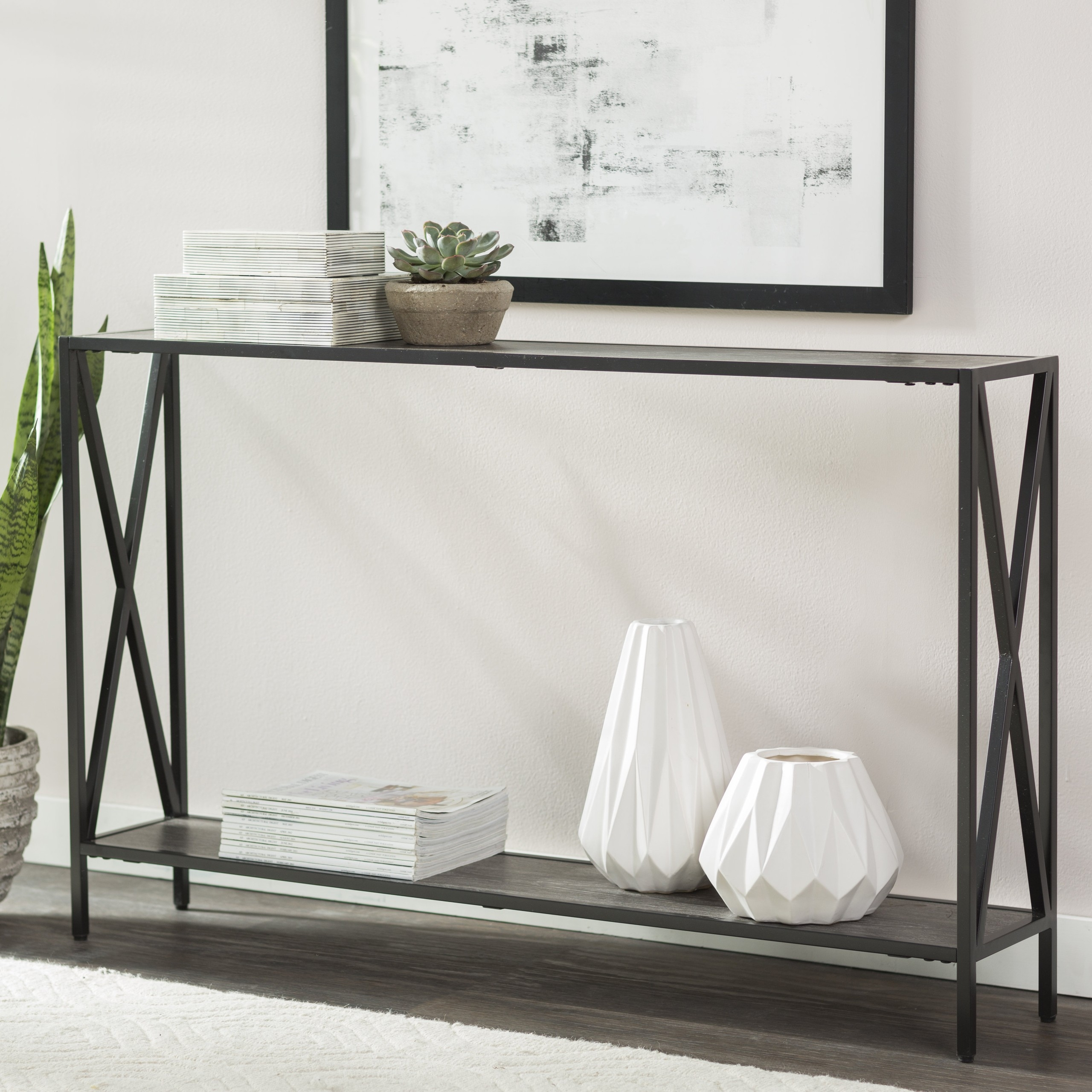 How To Choose A Console Table With Storage Foter