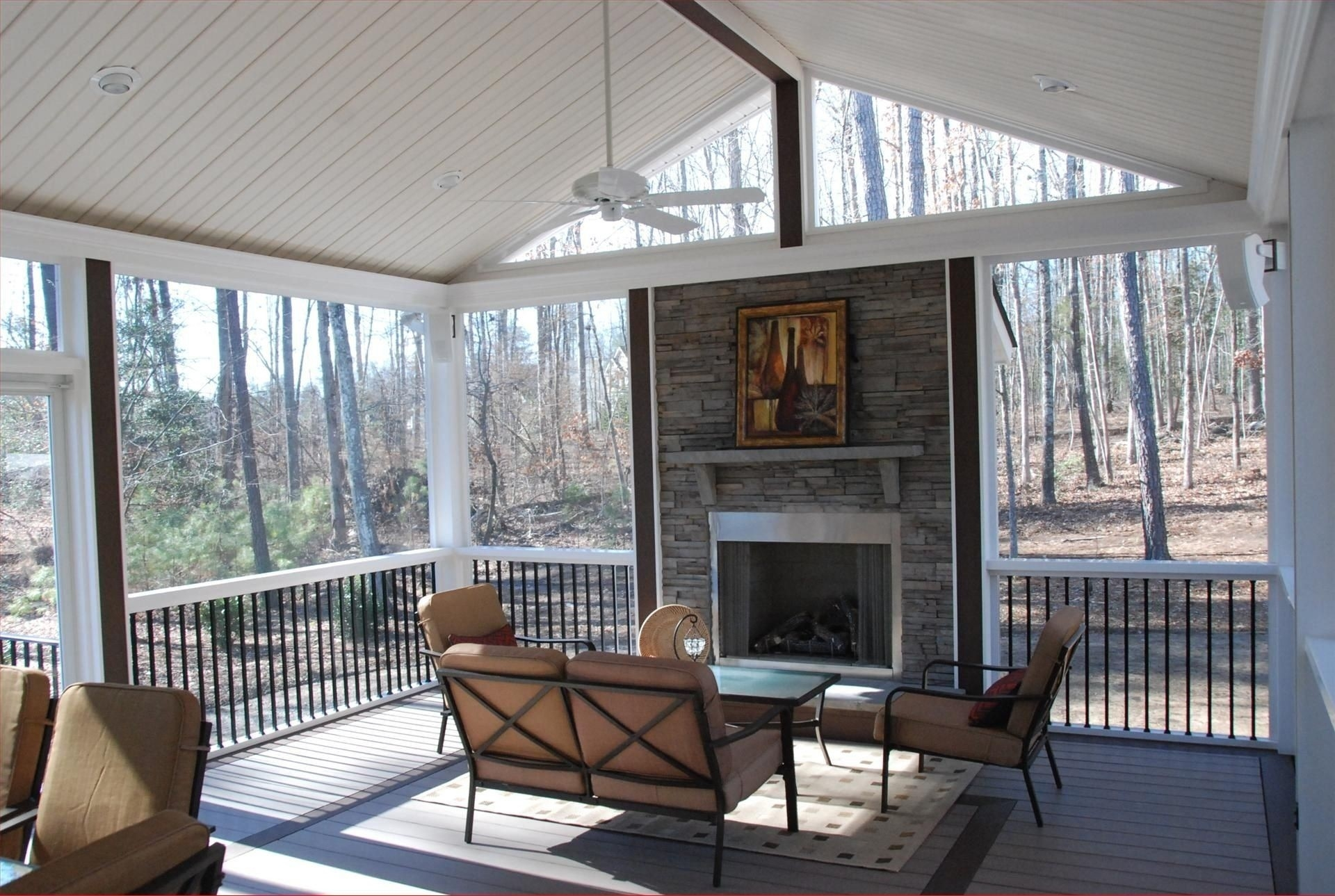 outdoor electric fireplaces ideas on