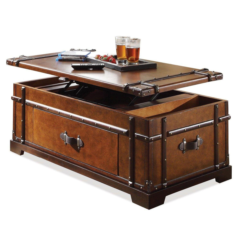 treasure chest coffee table ideas on