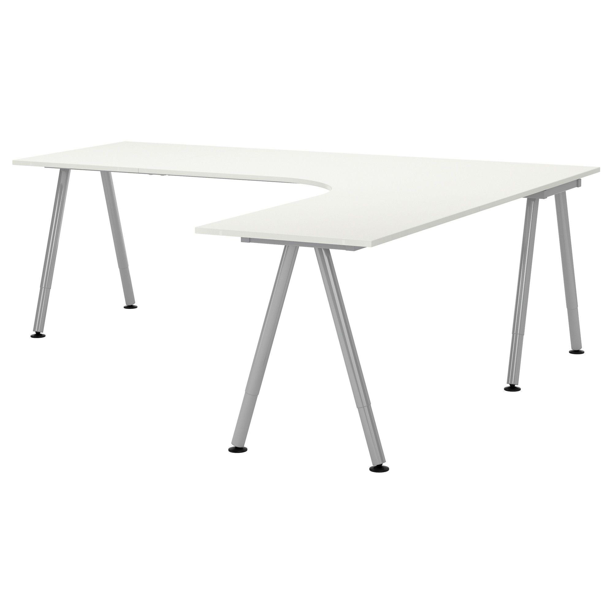 White L Shaped Desks Ideas On Foter