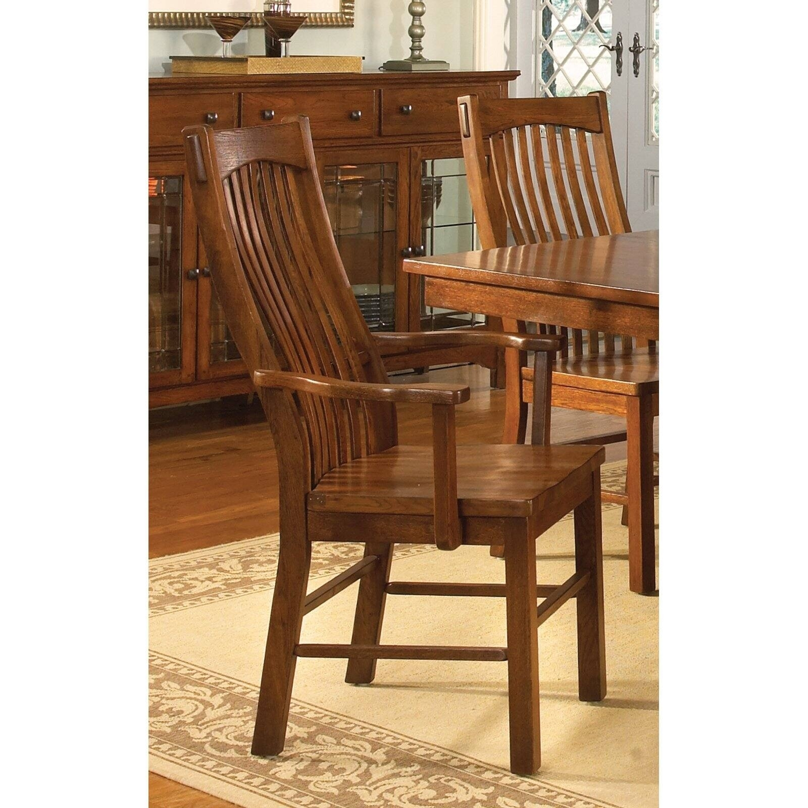 Wooden Kitchen Chairs With Arms Ideas On Foter