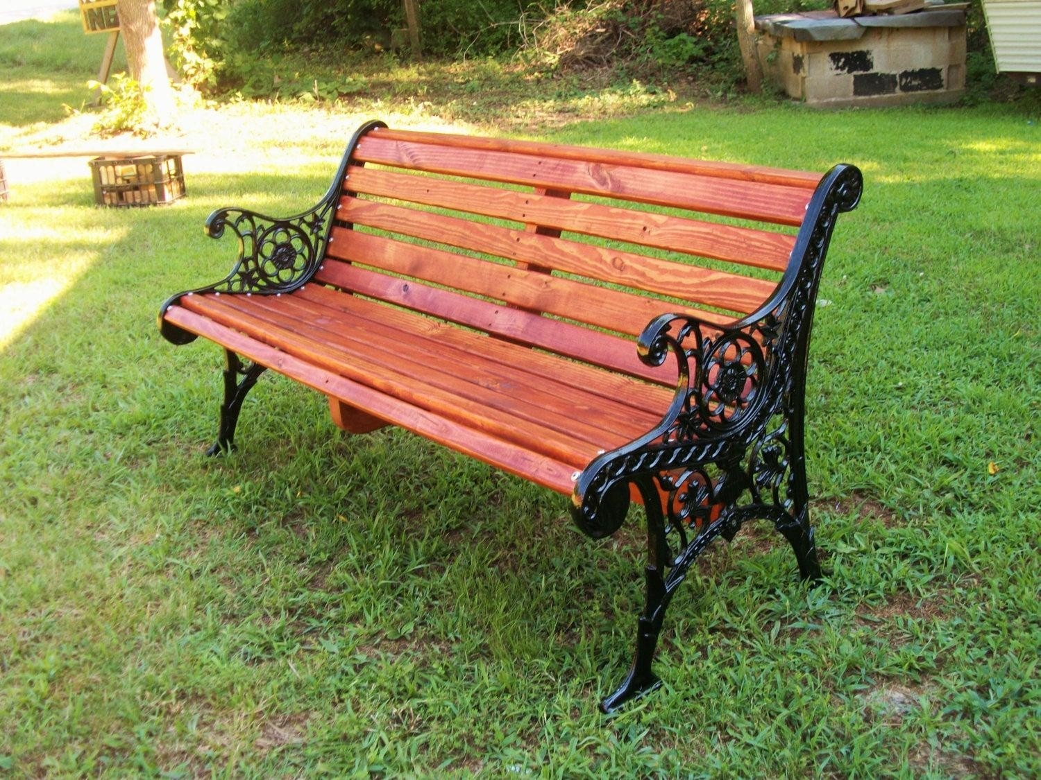 wrought iron patio benches ideas on foter