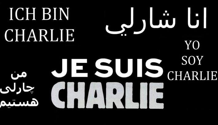 Kolozsvár is szolidáris a Charlie Hebdóval