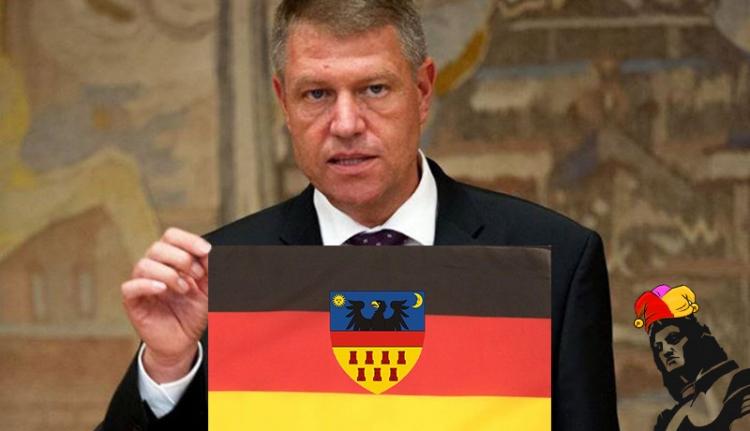 Johannis kitűzte a szász zászlót a Cotroceni-palotára