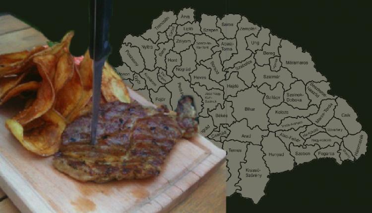 Nagy-Magyarország alakú sültekkel izgatnak Kolozsváron