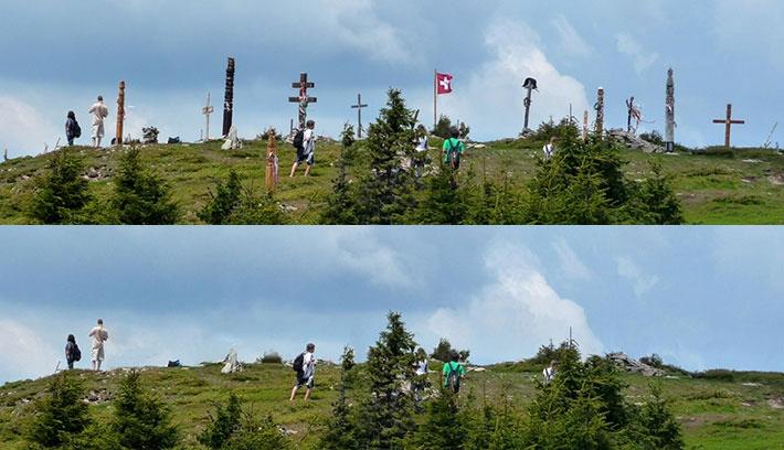 Kopjafátlanítás a székelyek szent hegyén