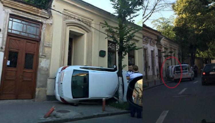 Hollywoodi filmekbe illő baleset Kolozsváron