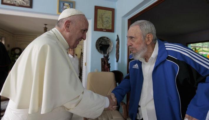Nulladik típusú találkozások: Ferenc pápa Kubában