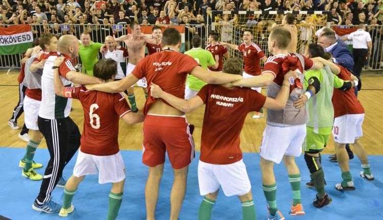 Futsal: utolsó másodperces góllal verték a magyarok a románokat