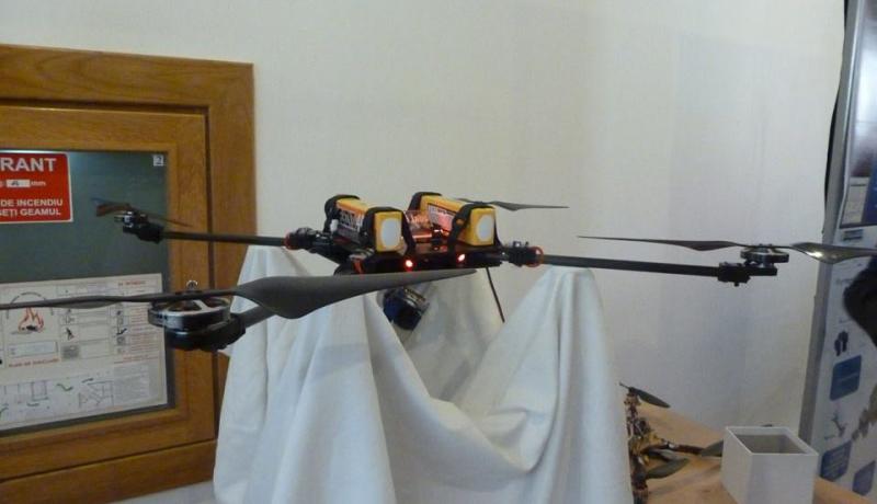 Világrekorder a székely drón