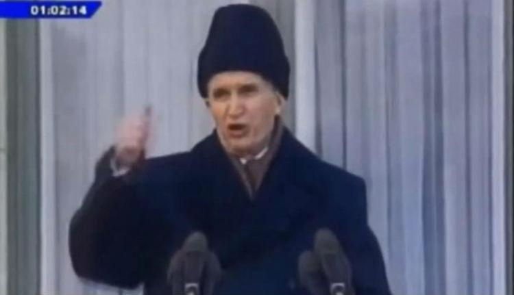 """""""Halló, halló!"""" Így vesztette el az irányítást Ceaușescu (VIDEÓ)"""