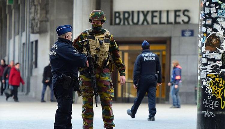 Terrortámadásra készültek Brüsszelben