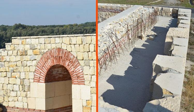 Félrerestauráltak egy római várat, nem lehet a világörökség része