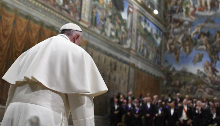 Ferenc pápa: a terroristák visszaélnek Isten nevével