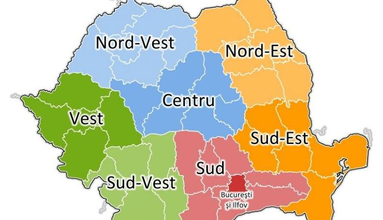 Óriási a szakadék a romániai régiók között