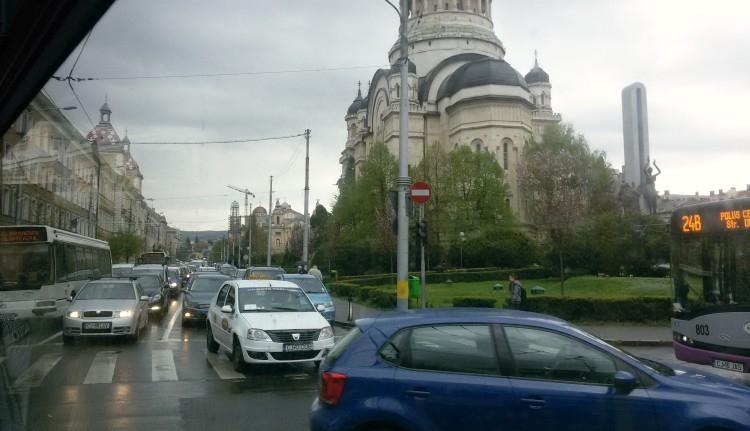 Fizetős lesz Kolozsvár belvárosa az autósoknak