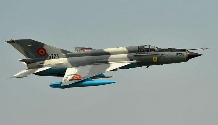 Lezuhant egy román MiG 21-es vadászgép