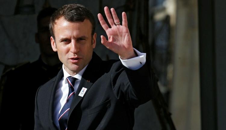 Romániába látogat Emmanuel Macron