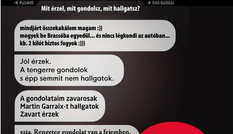 SMS-kiállítással nyit a pulzArt