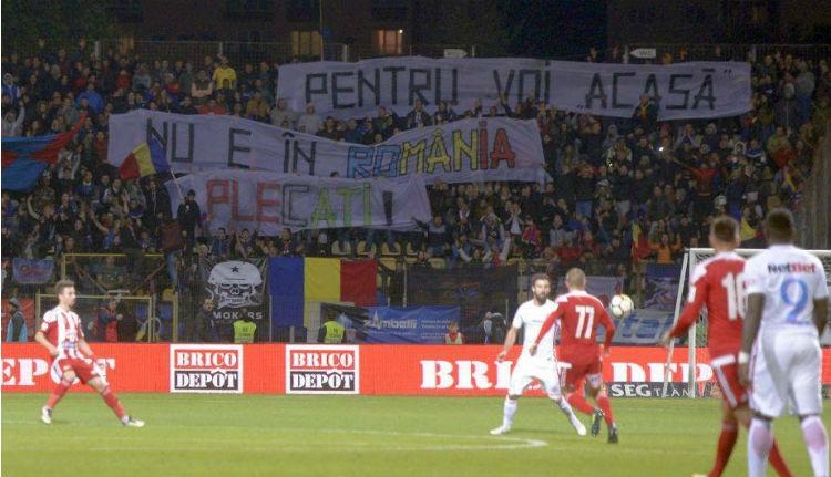 Magyarellenes hangulatkeltés a Sepsi OSK–Steaua meccsen