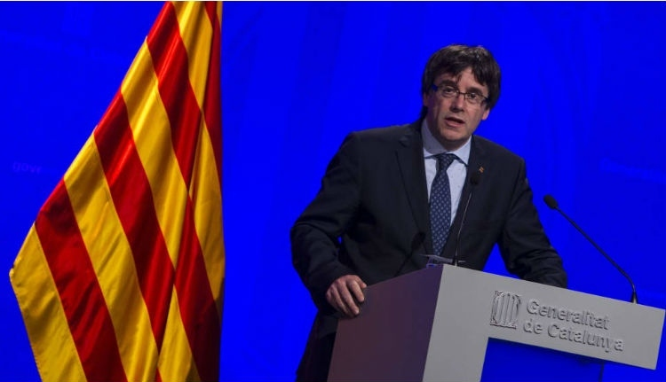 Katalán elnök: a spanyol király figyelmen kívül hagyja a katalánok millióit