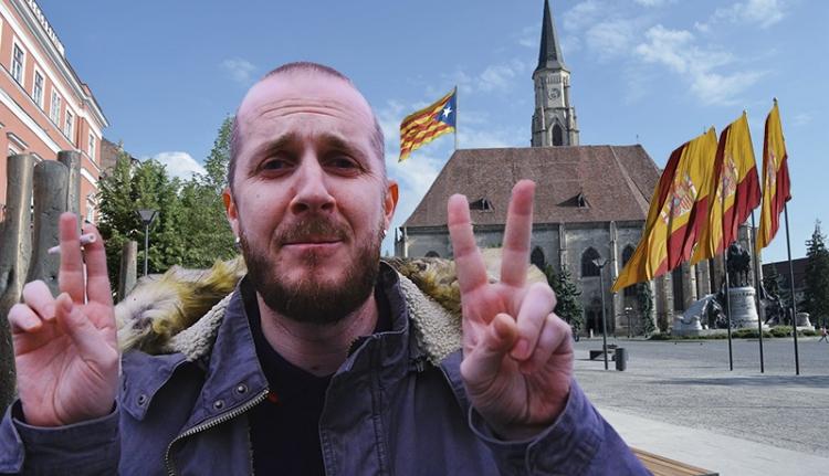 """""""Ugyanaz, mint Erdélyben"""": kolozsvári vélemények Katalónia függetlenségéről (VIDEÓ)"""