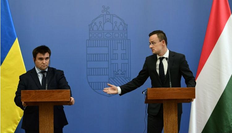Nem közeledtek az álláspontok a magyar–ukrán külügyminiszteri találkozón