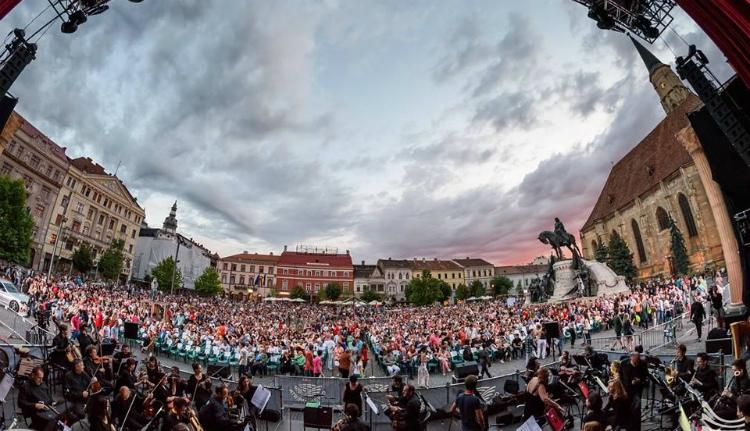 Újabb fesztivál Kolozsvár főterén