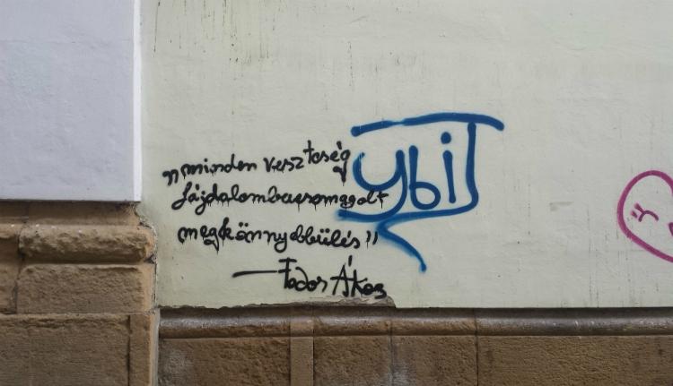 Ilyen graffiti is van