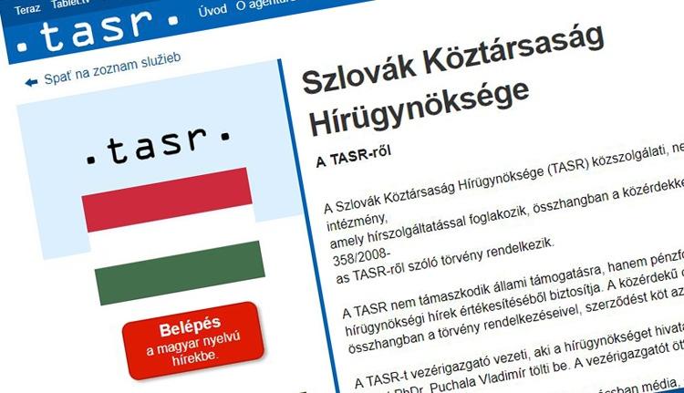Magyarul is tudósít a szlovák állami hírügynökség