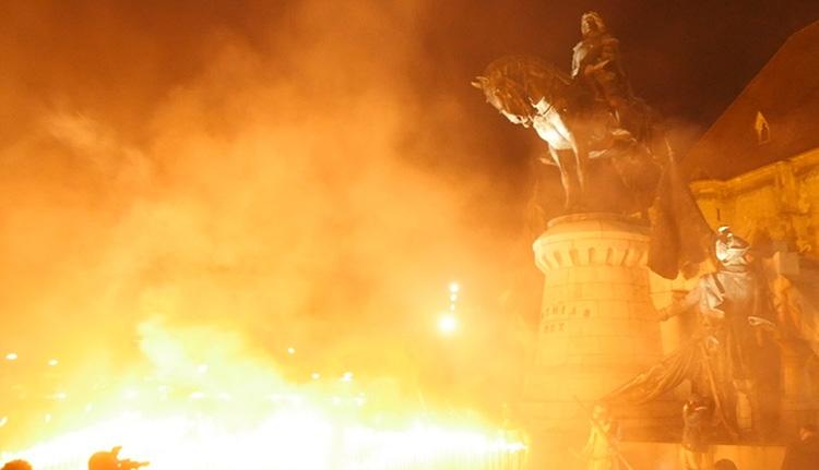 Fél évezred után is Mátyás a király Kolozsváron (VIDEÓ)