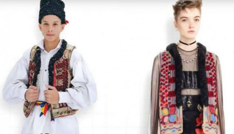 Román népviseletről koppintott az egyik legnagyobb luxus divatmárka