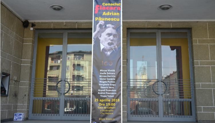Szó bennszakad, hang fennakad: Adrian Păunescu feltámadt