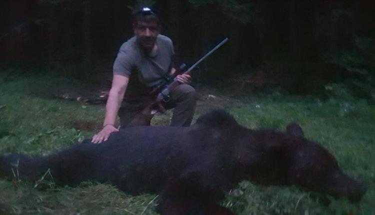 Kilőtték a fagyizó medvét Tusnádfürdőn