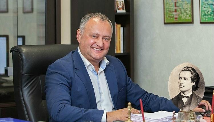 Igor Dodon moldovai elnök szerint Mihai Eminescu nem volt román (VIDEÓval)