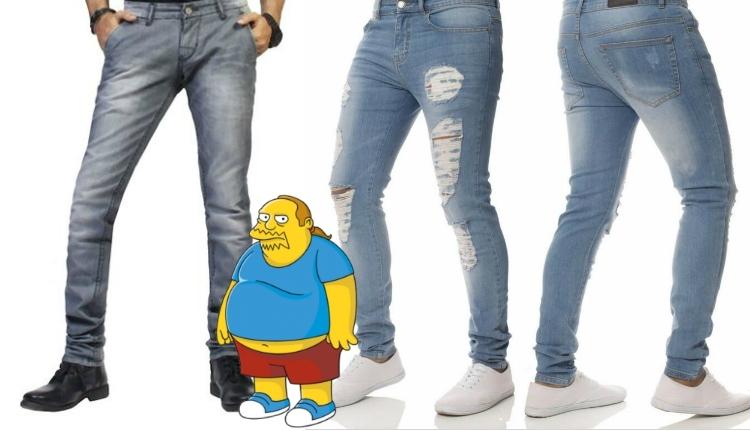 Egy szegény túlsúlyos személy (♂) panaszai ruhavásárlás közben
