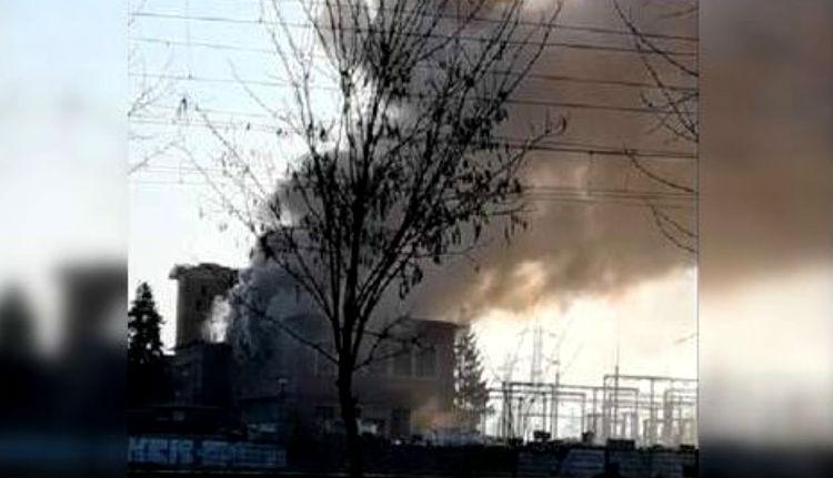 Nem viccelt az április elsejei tűz: rommá égett egy brassói transzformátor-állomás (VIDEÓval)