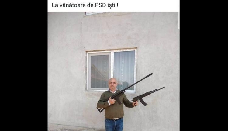A román politikusok már fegyverrel vadásznak egymásra