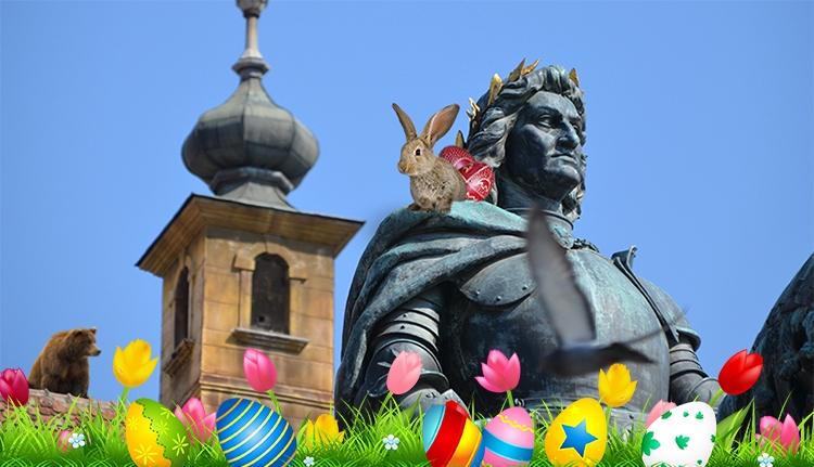 Virágos, pirostojásos húsvétot mindenkinek!