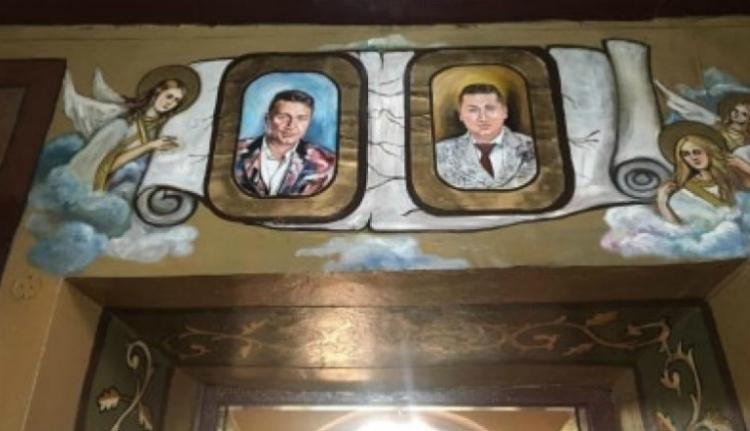 """""""Szentté avatták"""" Dragnea fiának üzletember haverjait egy Teleorman megyei ortodox templomban"""