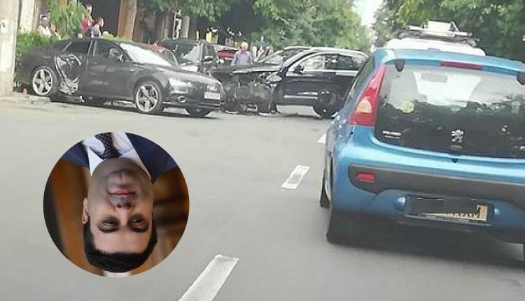 Az autópályákért felelős (vagy felelőtlen) közlekedési miniszter közlekedési balesetet szenvedett